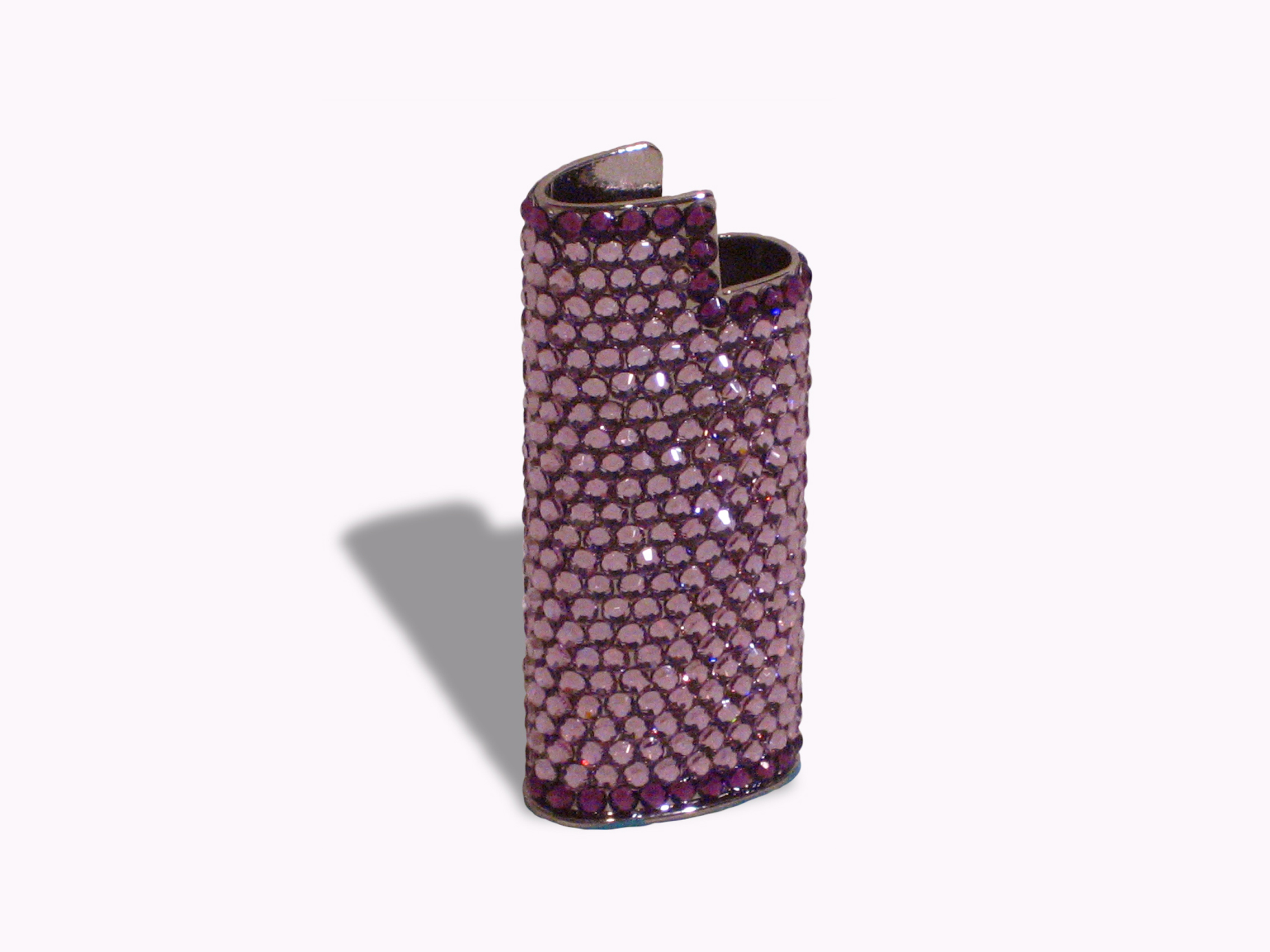 Lighter holder Lt.Amethyst-Amethyst